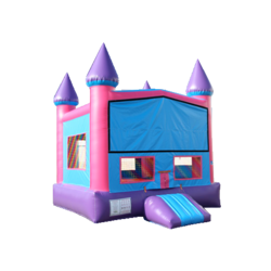 Castle Bounce Pink and Purple 13x13