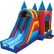 Bounce 'N' Double Dip Castle (Dry)