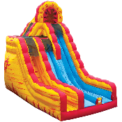 20' Fire and Ice Dry Slide
