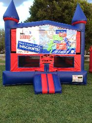 XL Sports Bounce House *(17L 17W 16H)