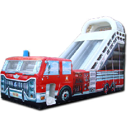 22 Foot Fire Truck Slide