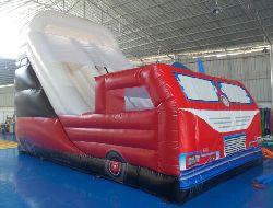 23' Fire Truck Double Slide