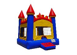 Arched Castle Bounce House (15x15)
