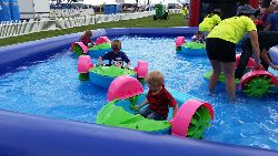 Mini paddle boats - $495