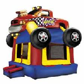 Monster Truck Bounce House