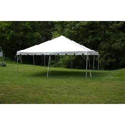 20 x 20 White Frame Tent