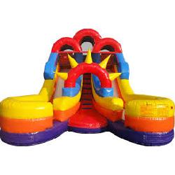 16' Double Splash Slide