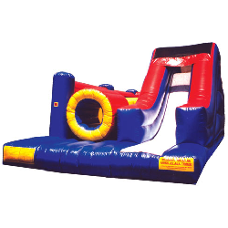 Obstacle Course 30 Foot Slide Combo