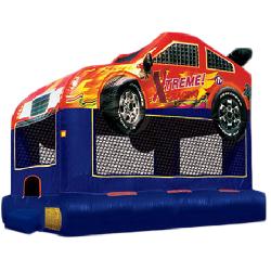 Real Race Car Bounce House
