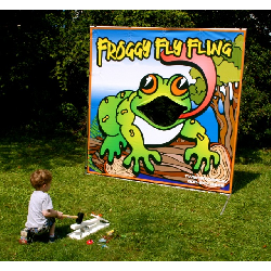 Froggy Fly Fling Frame Game - $50