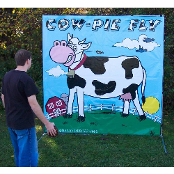 Cow-Pie Fly Frame Game - $65