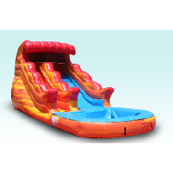 13ft Fire and Ice Water Slide