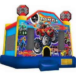 Racing Cars Fun Bouncer