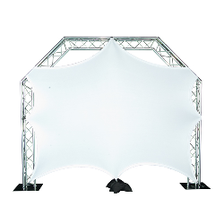 Stretch Screen 6x8 *truss not included