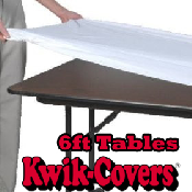 6ft Table Kwik Covers