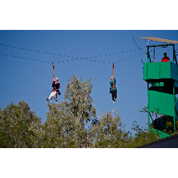 Flywire Zip Line incl staff