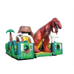 Jurassic Survival Obstacle Course