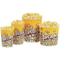 Popcorn Supplies- Retail