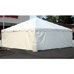 Tent Sides- All white 20 ft side