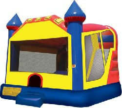 Combo 4 in 1 Large Castle Water slide