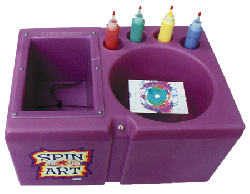 Spin Art Cards+Frames Incl. (50)