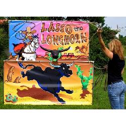 Longhorn Lasso Frame Game - $50