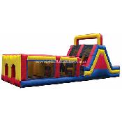 40' Obstacle w/ Mega Slide