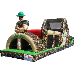 Camo Obstacle Course