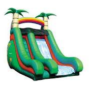 18ft Tropical Slide (DRY) w/o pool