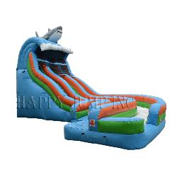 19' Aqualoop Water Slide