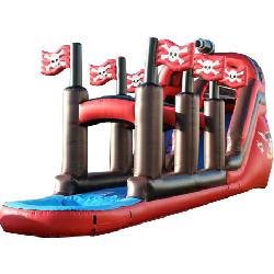20ft Pirate Slide with Slip-N-Slide