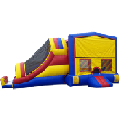 15 x 15 Bounce House with Slide Combonation