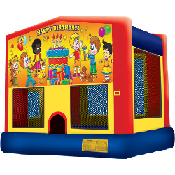 Bounce House Themed