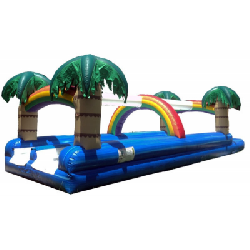 Tropical Double Lane Slip and Slide