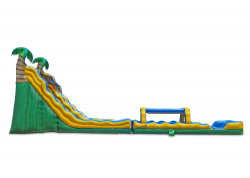 24 Tropical Wave Dual Slide nowm 3 1611433235 24' Tropical Dual Water Slide with Slip and Slide