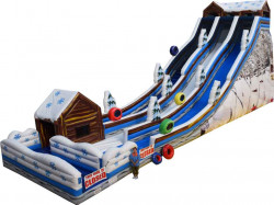 35' Alpine Tubing Double Lane Slide