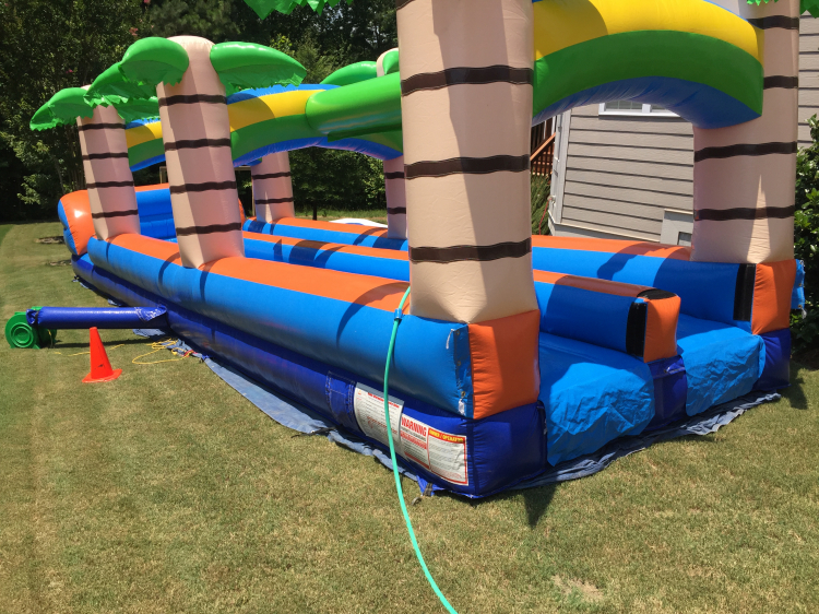perfect water slide rental Cary, NC