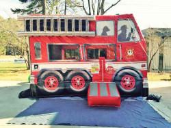 Fire Truck Bouncer