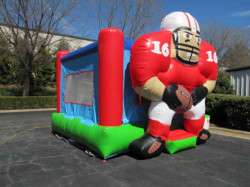 Football Bouncer - Red