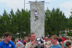 Climbing Wall - 24' Tall