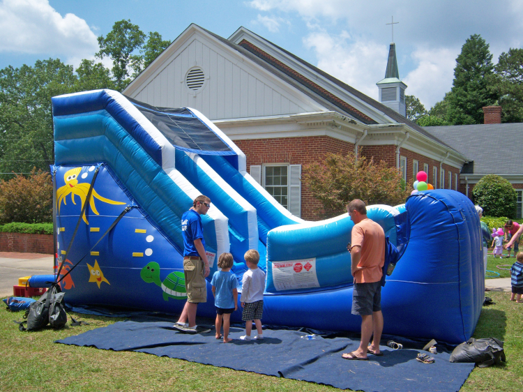 high quality water slide rental Raleigh, NC