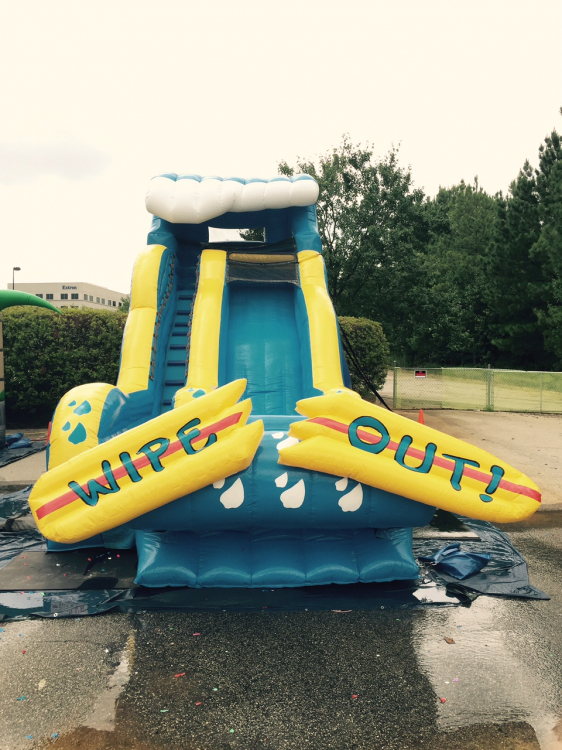 water slide rental Raleigh, NC