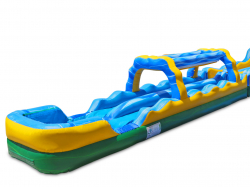 Inflatable Slip N Slide with Pool Landing