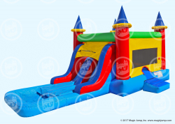 Castle Combo with Dual Slide WET-Non Slip