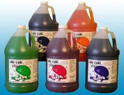 Sno Cone Syrup - Gallon