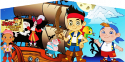 Jake and the Never Land Pirates Castle Moonwalk