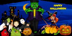 Happy Halloween Cartoon