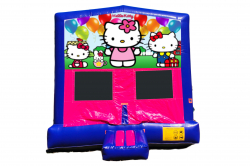 HELLO KITTY PINK/PURPLE BOUNCE HOUSE