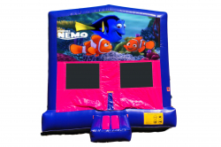 FINDING NEMO PINK/PURPLE BOUNCE HOUSE