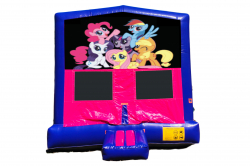 MY LITTLE PONY PINK/PURPLE BOUNCE HOUSE